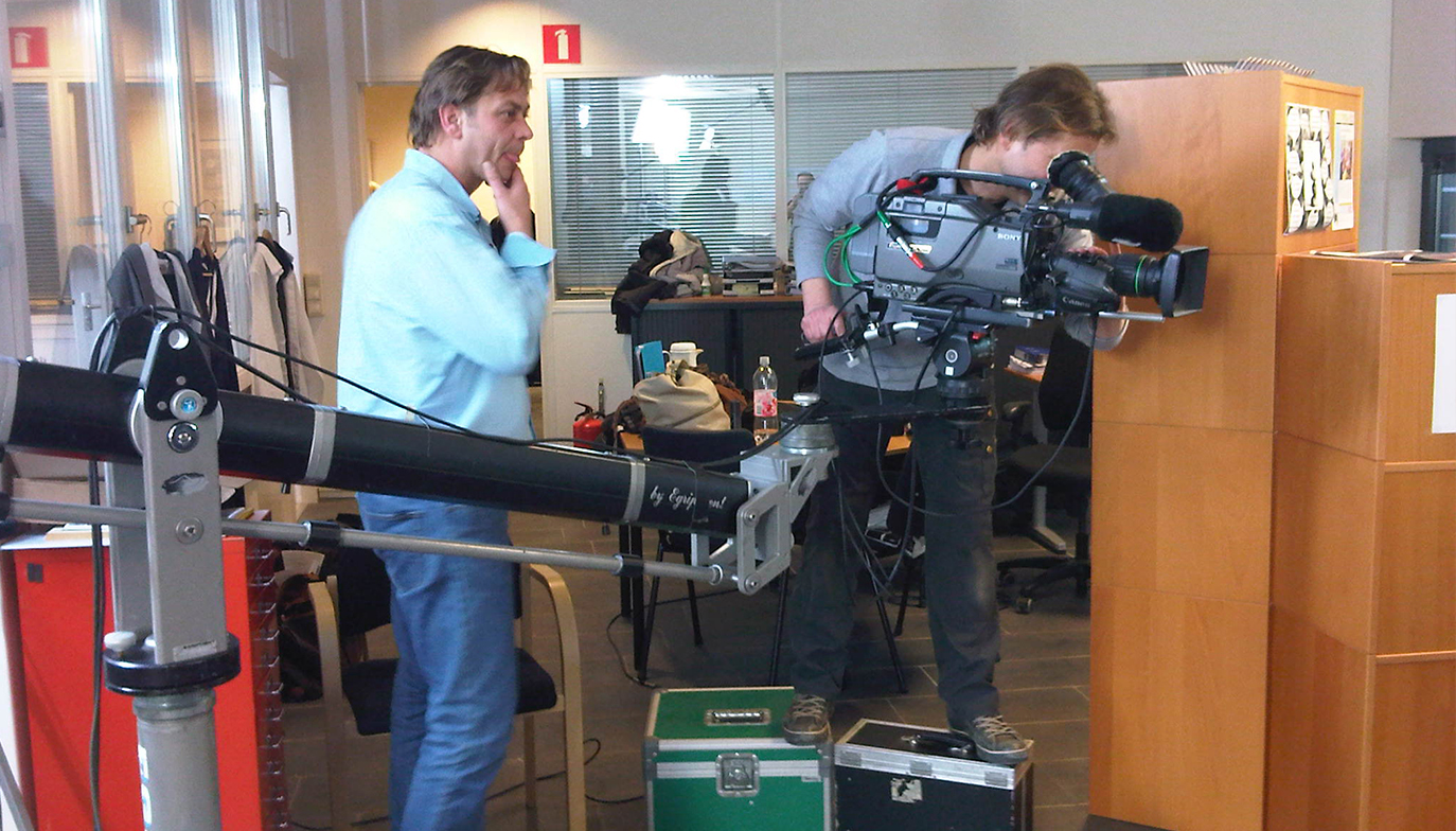 Aart-Jan Achter camera